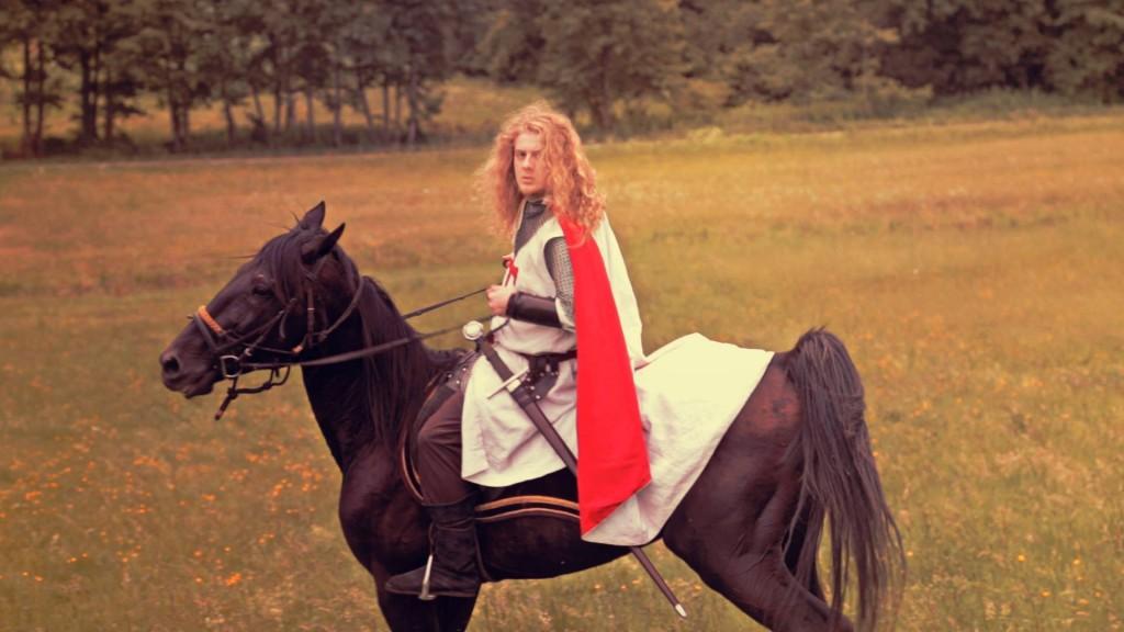Mounted Knight Templar