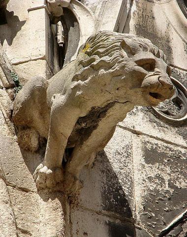 Lion as a Templar symbol.